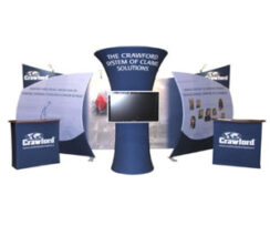Stretch Fabric Displays