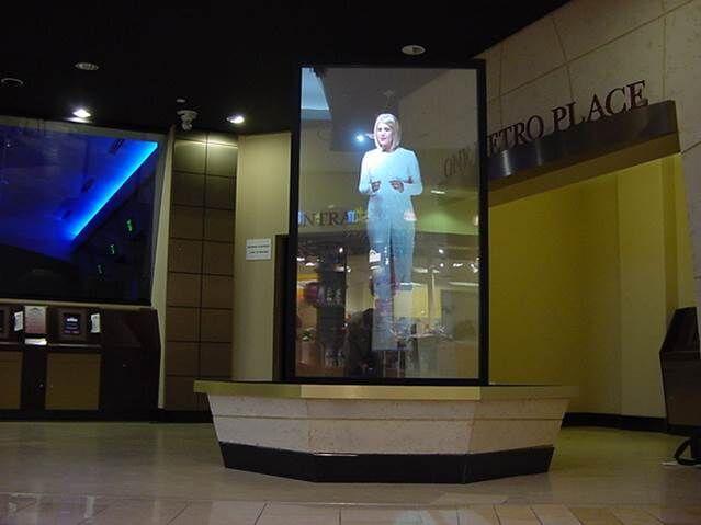 D Hologram Exhibition : Holograms radiant exhibits